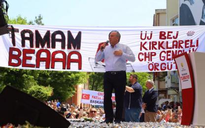 """Muharrem İnce """"CHP'lilerin değil 81 milyonun Cumhurbaşkanı olacağım"""""""